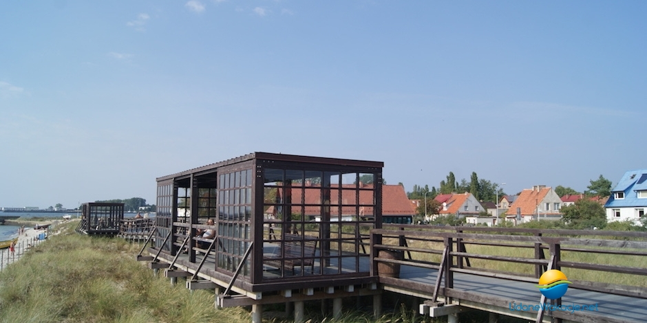 Atrakcje turystyczne Hel - Pomosty spacerowe
