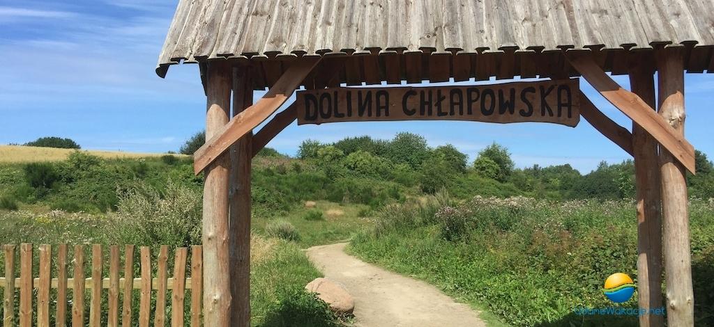 Atrakcje turystyczne Władysławowo - Wąwóz Chłapowski / Rudnik