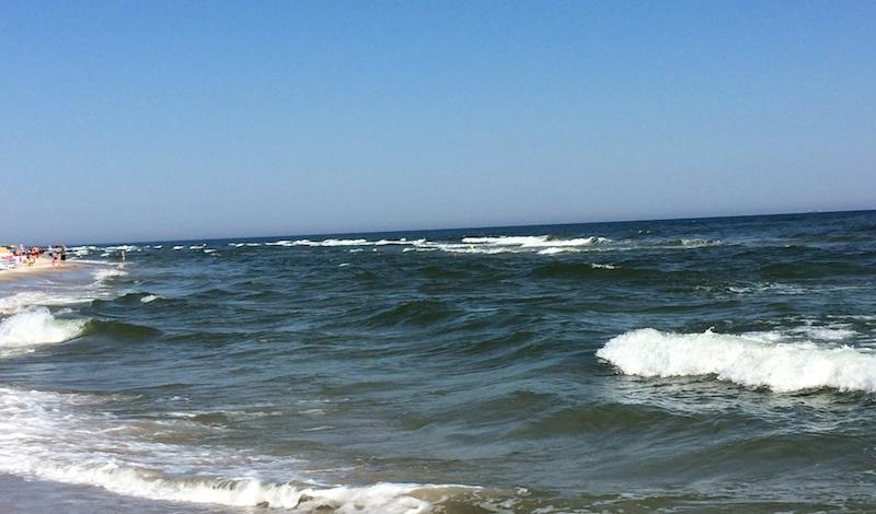 Plaża w Jastarni w Jastarnia
